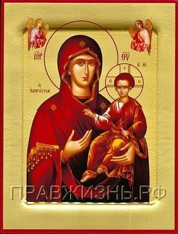 купить икону Одигитрия Смолнесекая