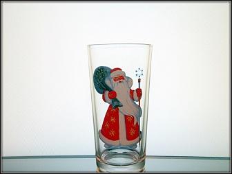 """Набор из шести стаканов """"С Новым Годом"""", стекло"""